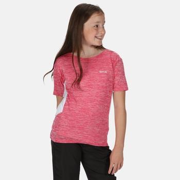 Kids' Takson III Marl Active T-Shirt Duchess White