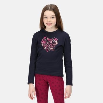 Dziecięca koszulka Wenbie II granatowa