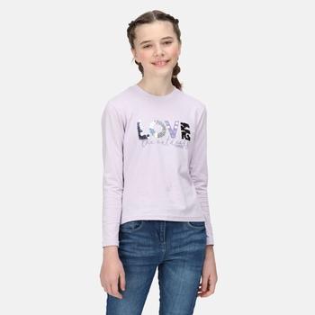 Kids' Wenbie II Print T-Shirt Lilac Frost