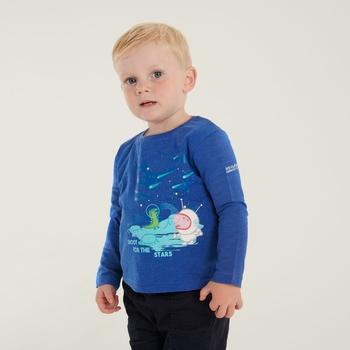 Peppa Pig Long Sleeved Graphic T-Shirt Surf Spray