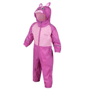 Kids' Charco Waterproof Puddle Suit Radiant Orchid Pink