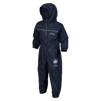 Kids' Puddle IV Breathable Waterproof Puddle Suit Navy