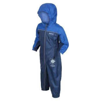 Kids' Puddle IV Waterproof Puddle Suit Nautical Blue Dark Denim