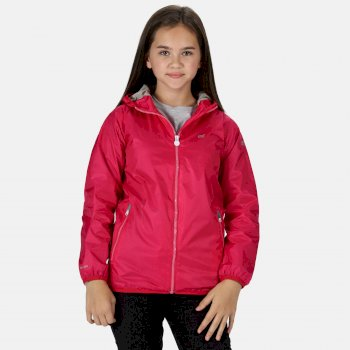 2ba560fdeab Kids  Lever II Lightweight Hooded Waterproof Jacket Cabaret Pink