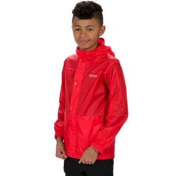 Kids Pack It Jacket II Lightweight Breathable Waterproof Packaway Pepper Red