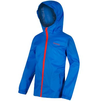 Kids Pack it Jacket III Waterproof Packaway SkyDiver Blue