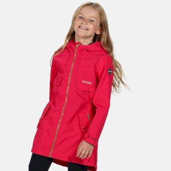 Kids' Tarana Waterproof Long Length Jacket Duchess Pink