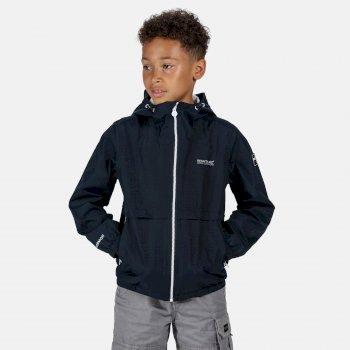 Kids' Haskel Waterproof Jacket Navy