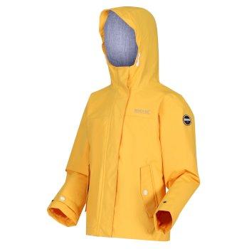 Kids' Bibiana Waterproof Jacket California Yellow
