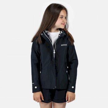 Kids' Bibiana Waterproof Jacket Navy
