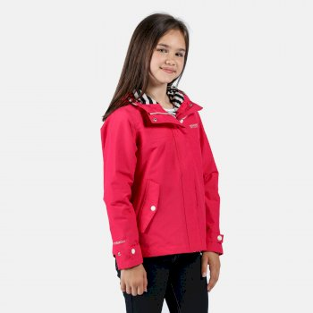 Kids' Bibiana Waterproof Jacket Duchess Pink