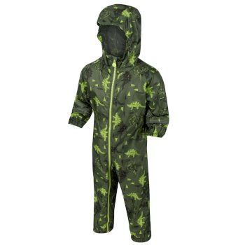 Kids' Pobble Waterproof Puddle Suit Cypress Green