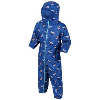 Kids' Pobble Waterproof Puddle Suit Nautical Blue