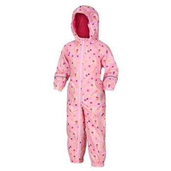 Kids' Pobble Waterproof Puddle Suit Sweet Lilac Llama