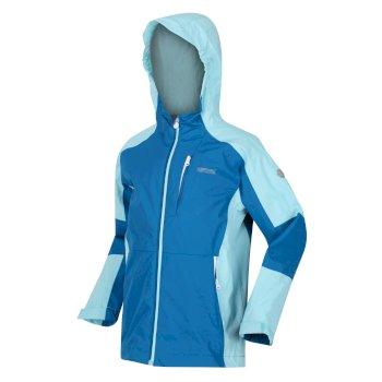 Kids' Calderdale II Waterproof Jacket Blue Aster Cool Aqua