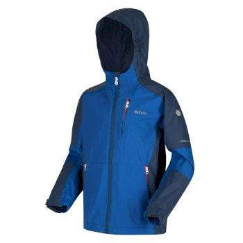 Kids' Calderdale II Waterproof Jacket Nautical Blue Dark Denim