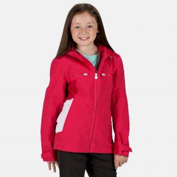 Kids' Highton Waterproof Jacket Duchess Dark Cerise