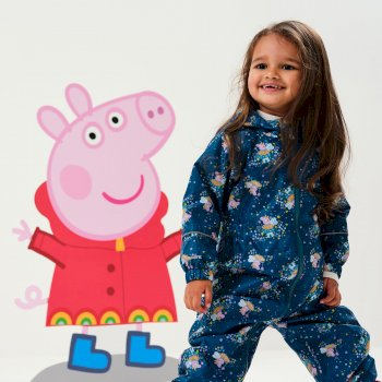 Peppa Pig Pobble Waterproof Puddle Suit Gulfstream