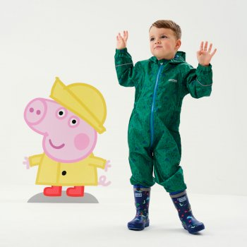 Peppa Pig Pobble Waterproof Puddle Suit Jelly Bean