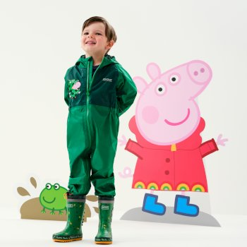Peppa Pig Charco Breathable Waterproof Puddle Suit Jelly Bean Dinosaur