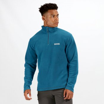 Men's Lightweight Fleece Sea Blue