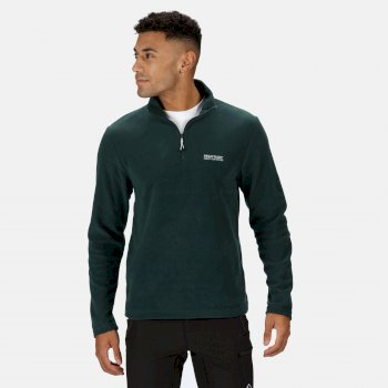 Men's Thompson Lightweight Half Zip Fleece Deep Pine