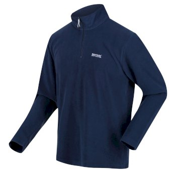 Men's Thompson Lightweight Half Zip Fleece Brunswick Blue