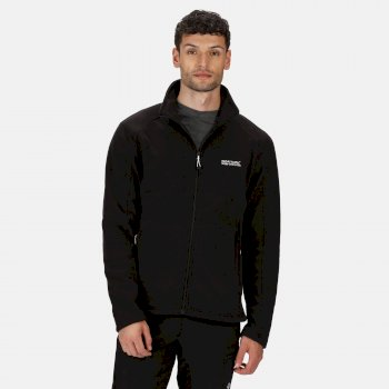 Men's Hedman II Heavyweight Full Zip Fleece Black