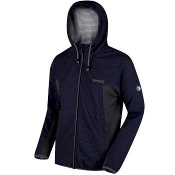 Tarnis Full Zip Hooded Fleece Navy Seal Grey