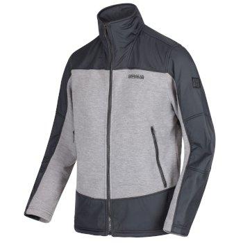 Men's Zorian Full Zip Fleece Rock Grey Seal Grey