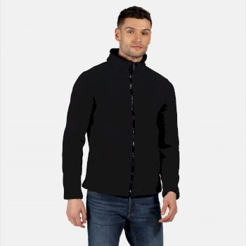 Men's Garrian Full Zip Heavyweight Fleece Black