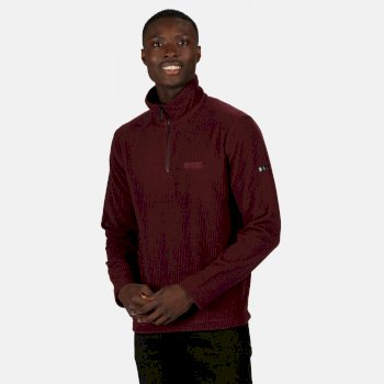 Men's Elgrid Half Zip Mid Weight Fleece Port Royale