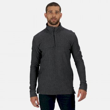 Men's Lauro Coolweave Half Zip Fleece Navy