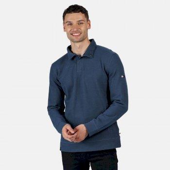 Men's Theon Coolweave Lightweight Sweatshirt Dark Denim