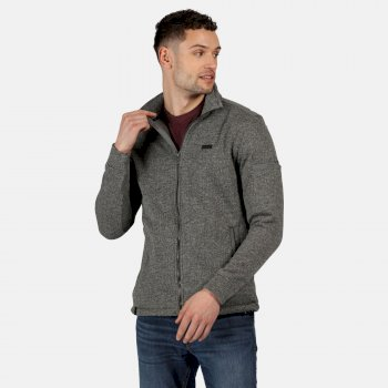 Men's Gavriel Full Zip Marl Fleece Asteroid Grey