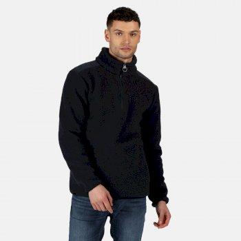 Men's Colman Half Zip Heavyweight Fleece Navy