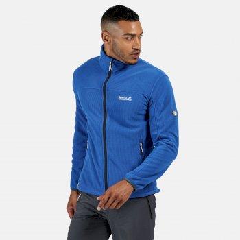 Men's Stanner Full Zip Lightweight Grid Fleece Nautical Blue