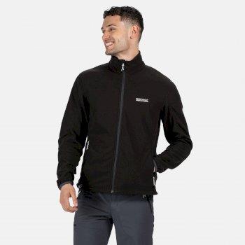 Men's Stanner Full Zip Lightweight Grid Fleece Black