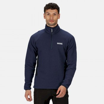 Men's Highton Stretch Lightweight Half Zip Fleece Navy