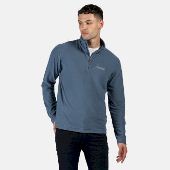 Men's Elgor II Lightweight Half Zip Fleece Stellar Blue