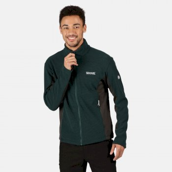 Men's Highton Winter Full Zip Two Tone Walking Fleece Deep Pine Ash