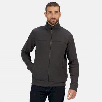 Men's Ives Full Zip Lightweight Fleece Seal Grey