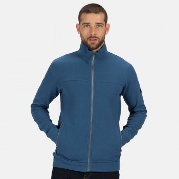 Men's Ives Full Zip Lightweight Fleece Stellar