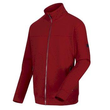 Men's Ives Full Zip Lightweight Fleece Delhi Red