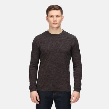 Men's Leith Crew Neck Sweatshirt Ash Marl