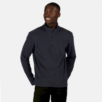 Men's Edley Half Zip Two Tone Fleece Navy