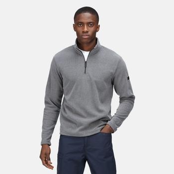 Men's Edley Half Zip Fleece Rhino Marl