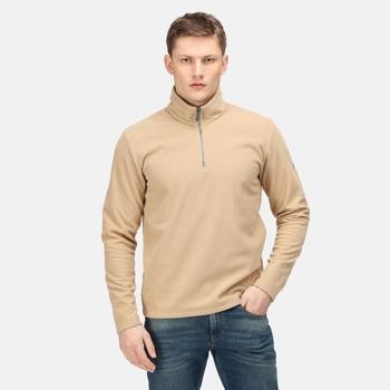 Men's Edley Half Zip Fleece Oat Rib