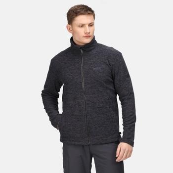 Men's Eildon Full Zip Fleece Rhino Black Marl
