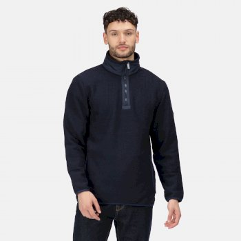 Men's Celestin Half Zip Fleece Navy